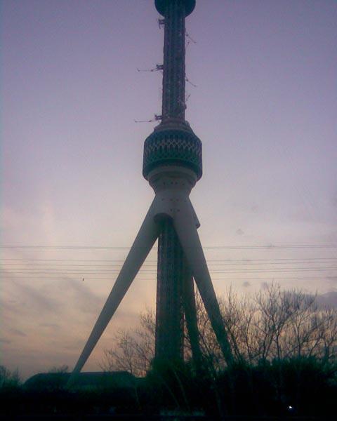 Телебашня в Ташкенте