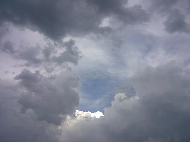 Яркое облако на небе