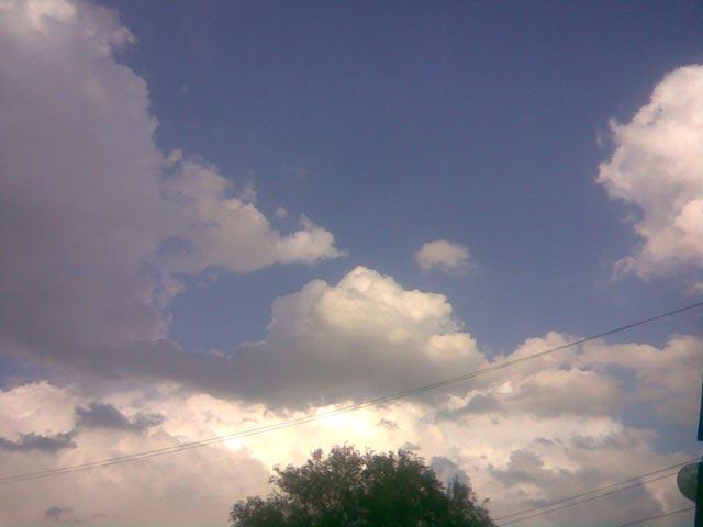 Клубы облаков