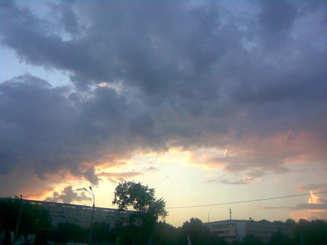 Яркие облака