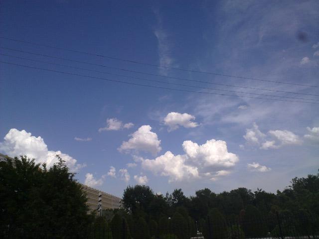 облака и красивое небо