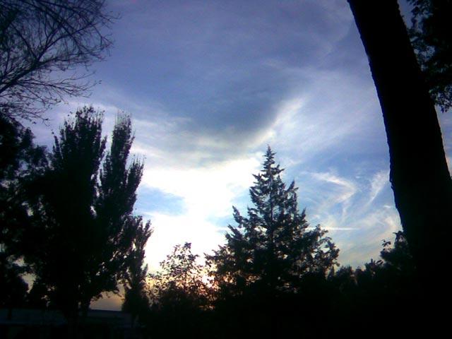 Фотография неба