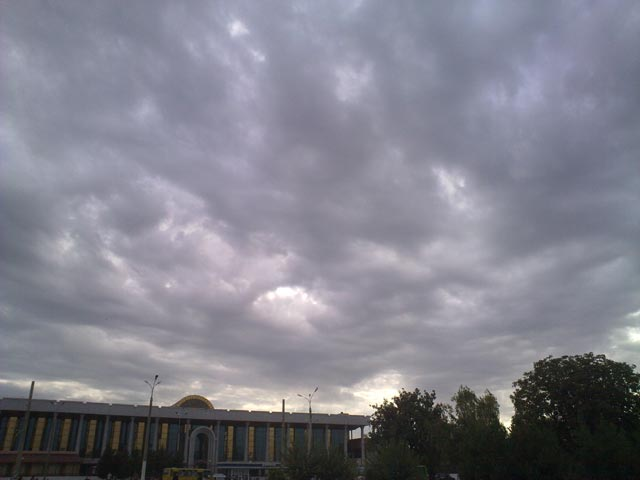 Облака в отдалении