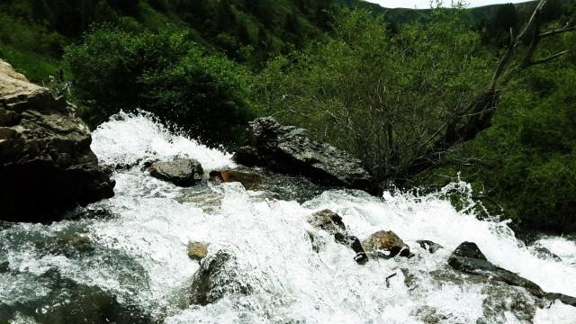 Водопад в Сукоке