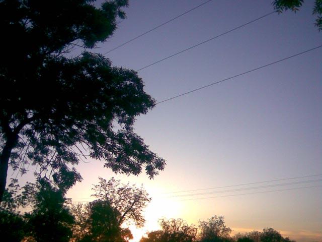 Классный закат