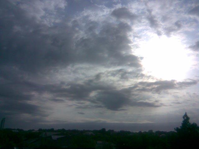 Солнце утром