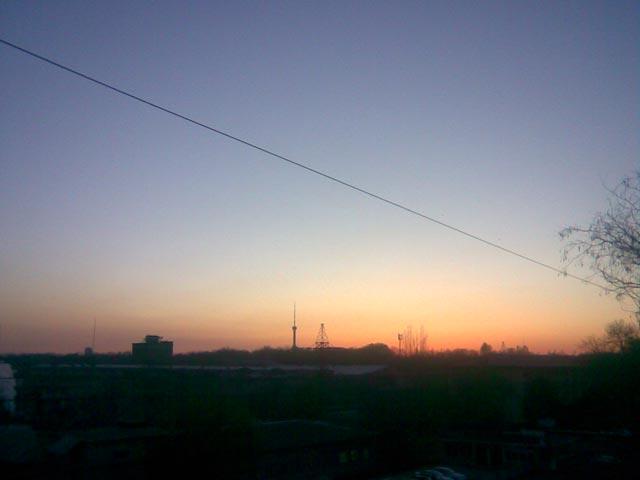 Мягкий закат
