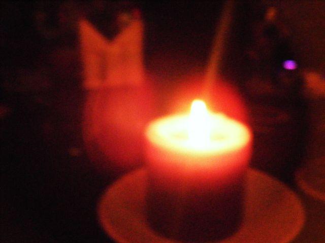 пламя и свеча