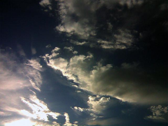 Контрастное небо