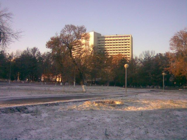 Заснеженный парк