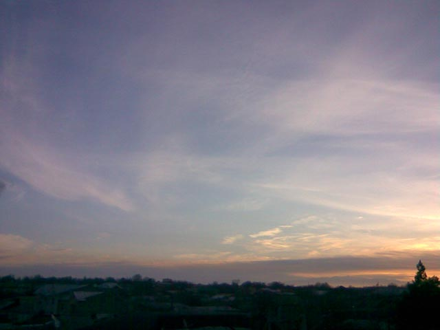Мягкие цвета неба
