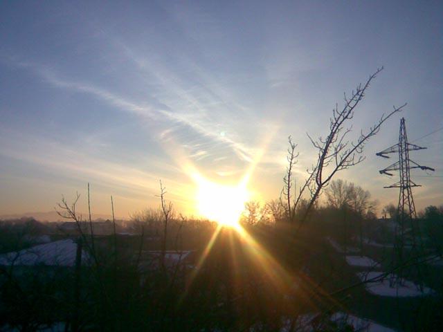 Очередное утро - восход