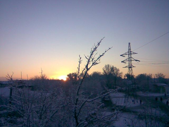 Ранний восход