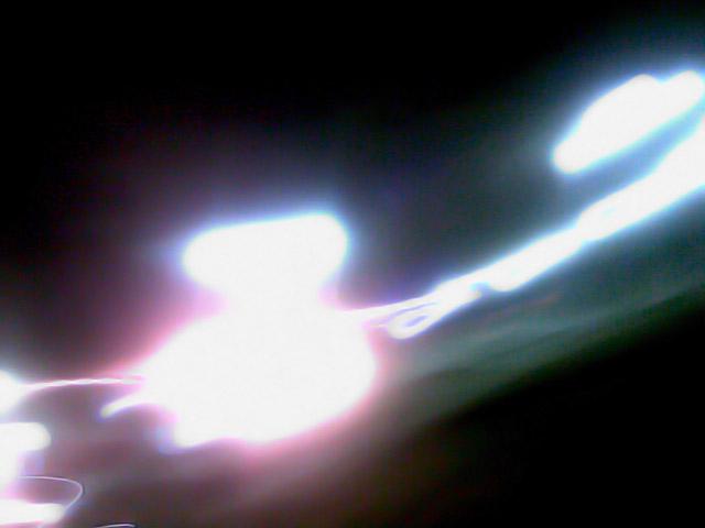 Свет фонарей