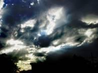 Не очень качественные, но красивые облака