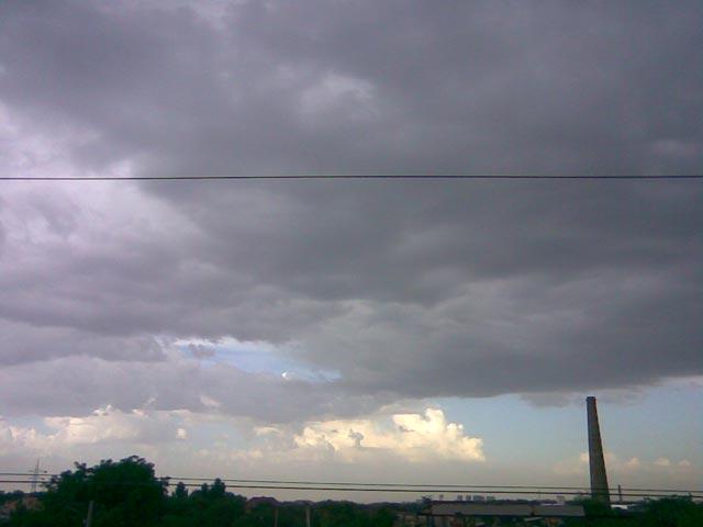 Небо вид с моста