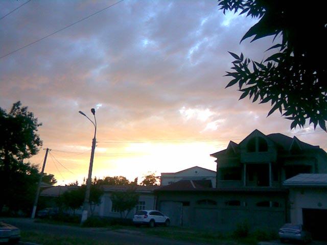 Ослепительный закат
