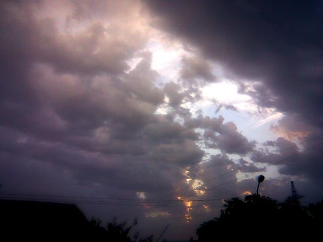 Небо и закат