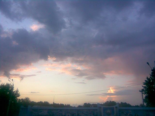 Очень интересное небо