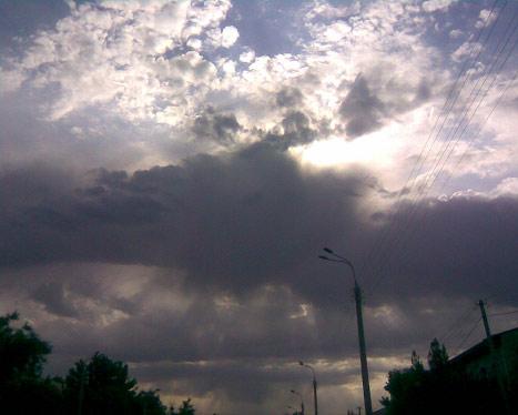Небо. супер облака