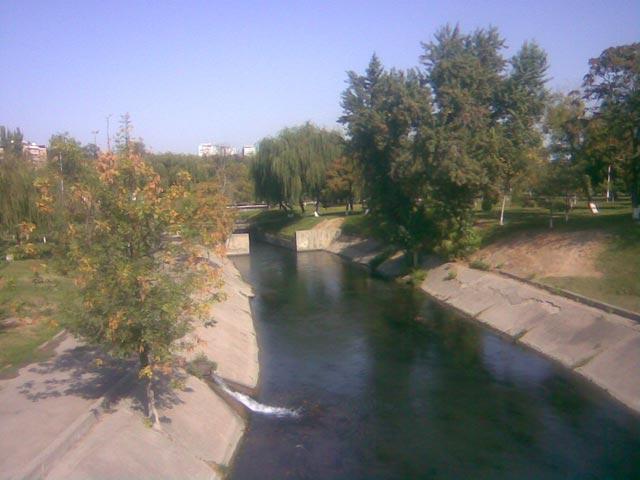 Вид на канал
