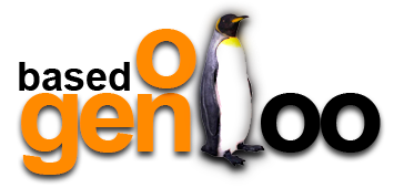 Based on Gentoo Logo