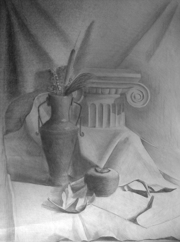 натюрморт в греческом стиле